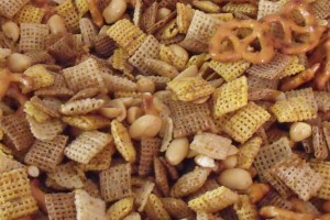 The original and popular Chex Mix recipe, made for a crowd