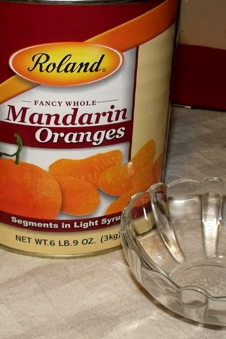 You read that right 6 lbs 9 oz of Mandarin Oranges
