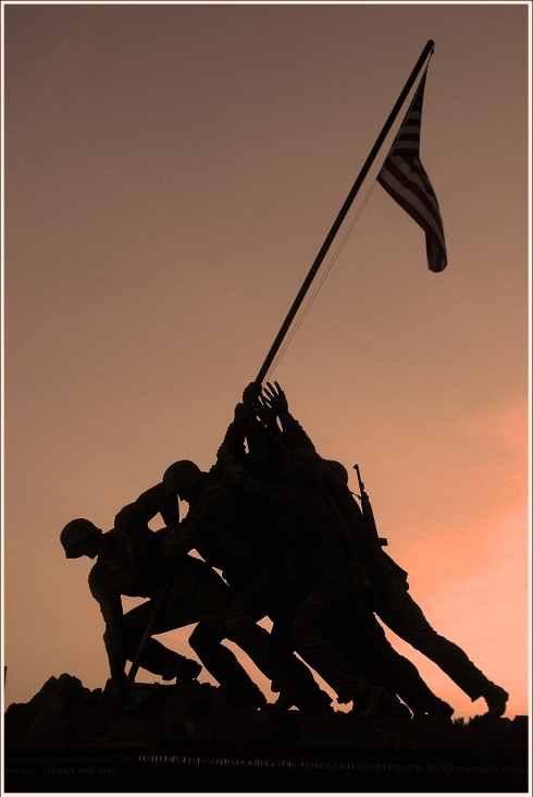 Iwo Jima Marine Memorial