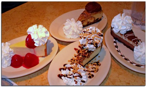 Cheesecake, cheesecake, and more cheesecake