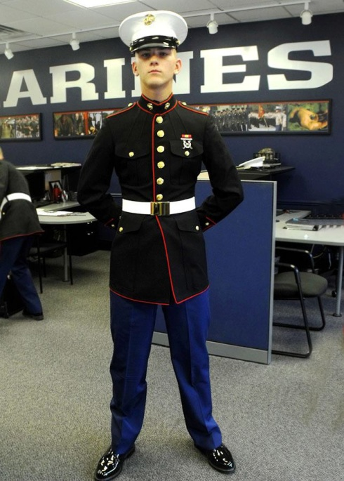 Marine Corps dress blues