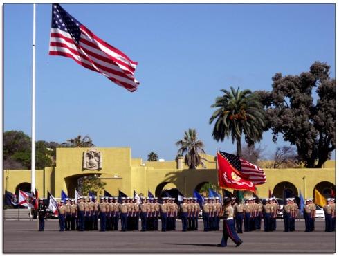 Marine Corps Graduation, San Diego CA