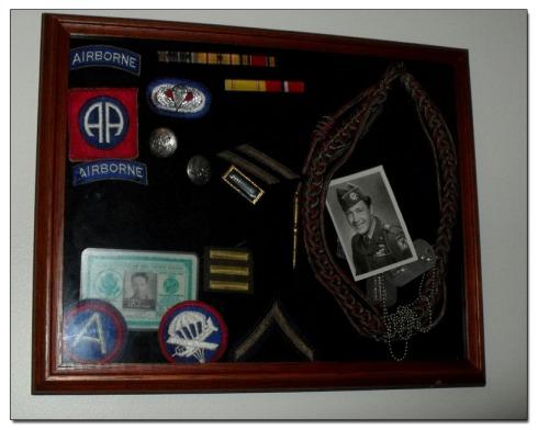 Leo Tyrrell, Korean War Memorabilia