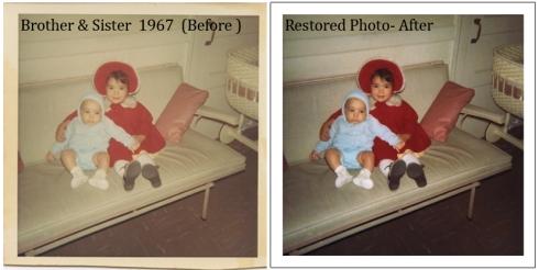 Photo Restoration 1960s