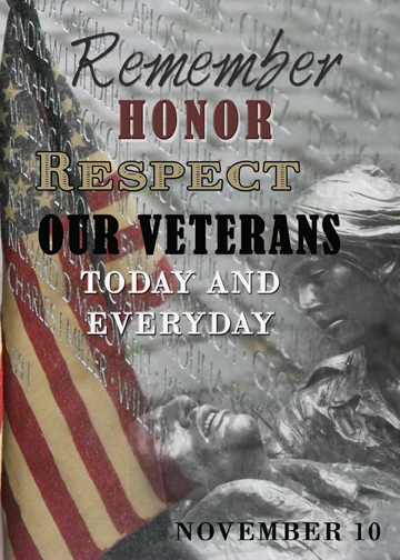 Veterans Days Message